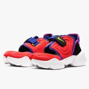 Nike Sportswear Womens Aqua Rift Bright Crimson